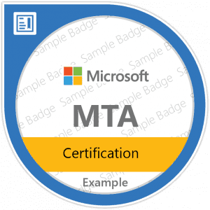 MTA (Microsoft Technology Associate ) certificering lrn mcc MTA Certification2x1